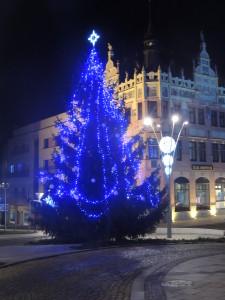 Vánoční stromek ve Strakonicích